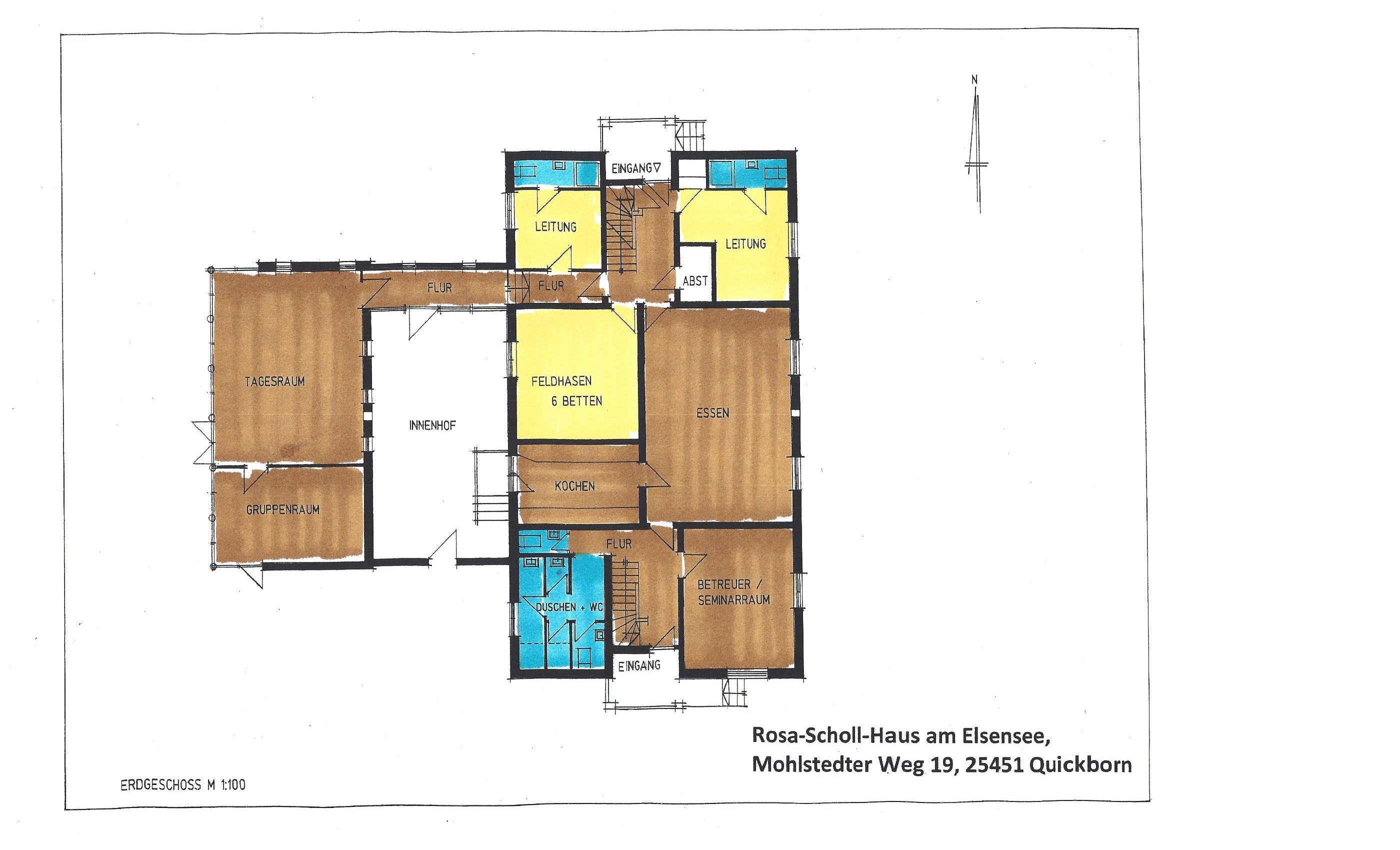 Haus zeichnung  Rosa-Scholl-Haus | Sophie-Barat-Schule
