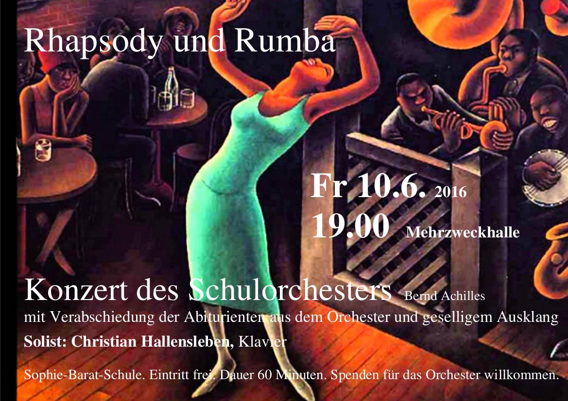 Rhapsody und Rumba 10.6.2016